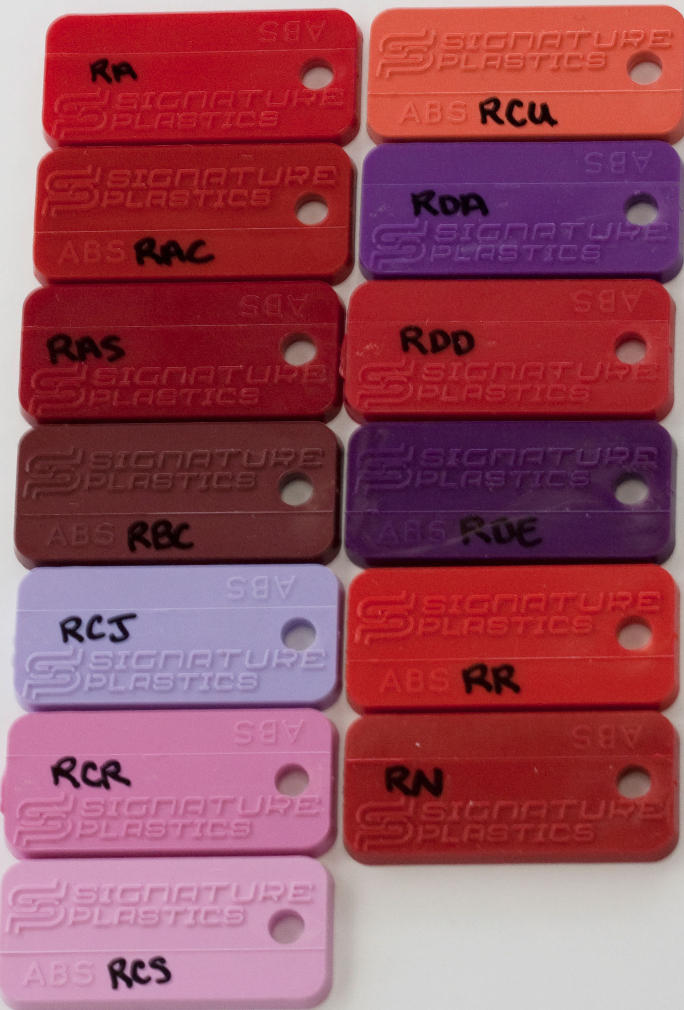 Keycap Colors
